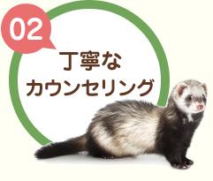 【02】丁寧なカウンセリング